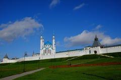 Kremlin de Kazan, Kazan Rusia Imagem de Stock