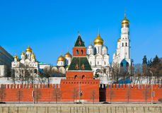 Kremlin de Moscou Fotos de Stock Royalty Free