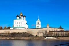 Kremlin de Pskov (Krom) Imagem de Stock