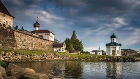 Kremlin de Solovetskiye fotografia de stock