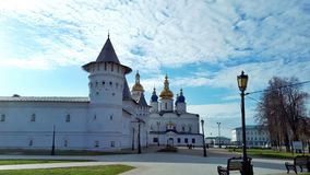 Kremlin de Tobolsk no dia do autemn imagens de stock royalty free