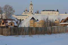 Kremlin de Tobolsk, Tobolsk, Sibéria, Rússia foto de stock