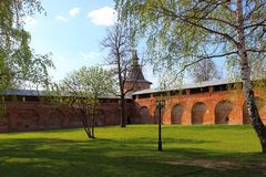 Kremlin de Zaraysk photos stock