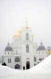 Kremlin in Dmitrov city, Moscow region, Russia Royalty Free Stock Photography