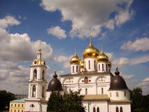 The Kremlin of Dmitrov Royalty Free Stock Images
