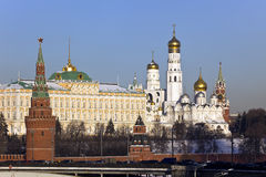 Kremlin and Dormitory Cathedral Royalty Free Stock Photography