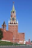 Kremlin e quadrado vermelho em Moscou Foto de Stock Royalty Free