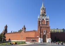 Kremlin e quadrado vermelho em Moscou Fotos de Stock