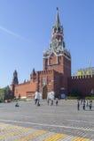 Kremlin e quadrado vermelho em Moscou Fotografia de Stock Royalty Free