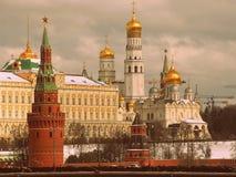 Kremlin em Moscovo Imagem de Stock