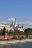 Kremlin embankment Royalty Free Stock Photography