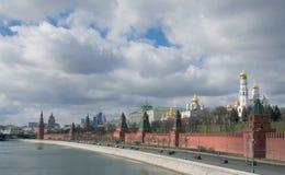 Kremlin Embankment Stock Photography