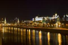 Kremlin embankment. Russia. Moscow royalty free stock photos