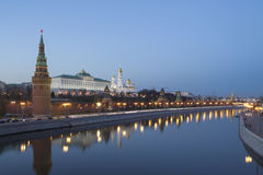 The Kremlin from the embankment. Stock Photography