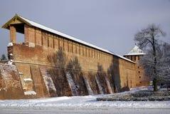 Kremlin en invierno Fotografía de archivo libre de regalías