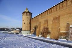 Kremlin en invierno imágenes de archivo libres de regalías