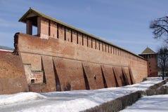 Kremlin en invierno fotos de archivo