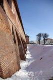 Kremlin en invierno foto de archivo libre de regalías