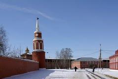 Kremlin en invierno Fotografía de archivo