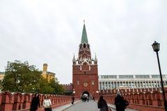 Kremlin en Moscú Rusia Imagen de archivo