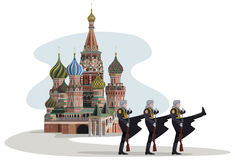 Kremlin et soldats russes Photos libres de droits