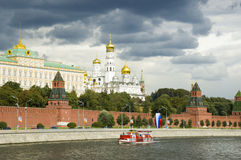 Kremlin. government house and Church Stock Images