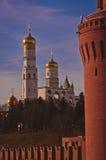 Kremlin i Ivan Wielki Dzwonkowy wierza Zdjęcie Royalty Free