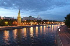 Free Kremlin In Moscow, Russia At Night Royalty Free Stock Photo - 12914665