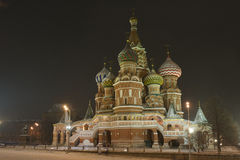 Kremlin Intercession cathedral St Basils Stock Photos