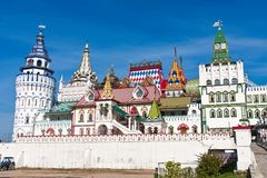 Kremlin in Izmailovo Royalty Free Stock Photography