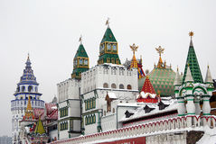 Kremlin in Izmailovo, Moscow, Russia Royalty Free Stock Photo