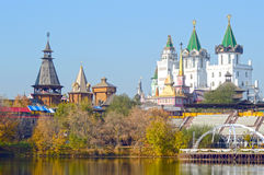 The Kremlin in Izmailovo Moscow Russia Royalty Free Stock Photo