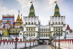Kremlin In Izmailovo in Moscow, Russia royalty free stock image