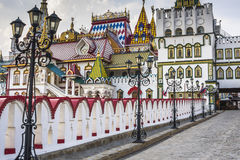 Kremlin In Izmailovo in Moscow, Russia. Cultural-Entertainment Complex Kremlin In Izmailovo in Moscow, Russia stock photo