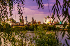 Kremlin In Izmailovo. Moscow, Russia Stock Photography