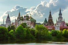 Kremlin Izmailovo, Moskwa, Fotografia Stock