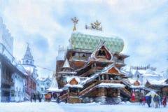 `Kremlin in Izmailovo` Stock Photo