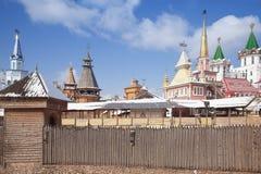 Kremlin is in Izmaylovo Stock Photos
