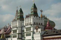 Kremlin in Izmaylovo, Moskau-Grenzstein Stockfoto