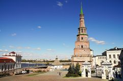 Kremlin in Kazan Royalty Free Stock Photography