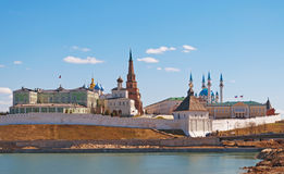 Kremlin in Kazan. Russia Stock Photos