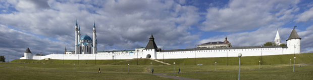 Kremlin in Kazan. Royalty Free Stock Photography