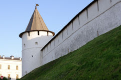 Kremlin of Kazan Royalty Free Stock Photos