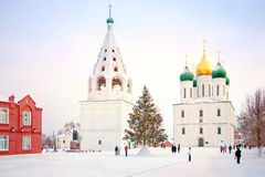 Kremlin is in Kolomna Stock Image