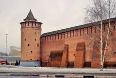Kremlin in Kolomna, Russia. Color photo. Stock Image
