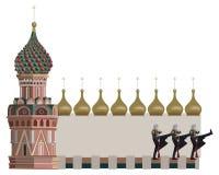 Kremlin-Kontrolltürme Lizenzfreie Stockfotos