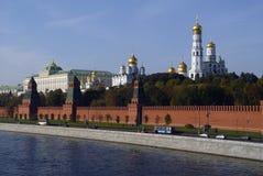 kremlin liggande arkivbilder