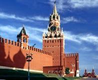 Kremlin mit Schattenkirche Lizenzfreies Stockfoto