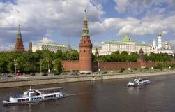 Kremlin, Moscú, Rusia Imágenes de archivo libres de regalías