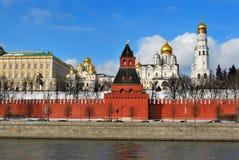 Kremlin, Mosca Fotografie Stock Libere da Diritti